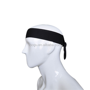 Custom Logo Running Athletes Headband Sports Dri-Fit Head Tie