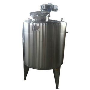 stainless steel 304 apple juice mixing tank with agitator