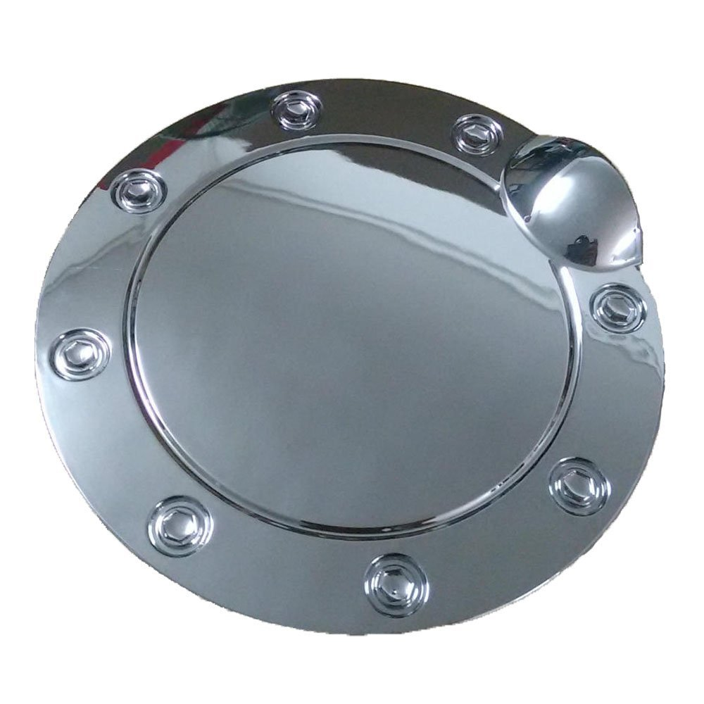 Get Quotations · Auto for 2015-2016 Ford F150 Triple Chrome Plated Gas Door  Cover Fuel Tank Cap