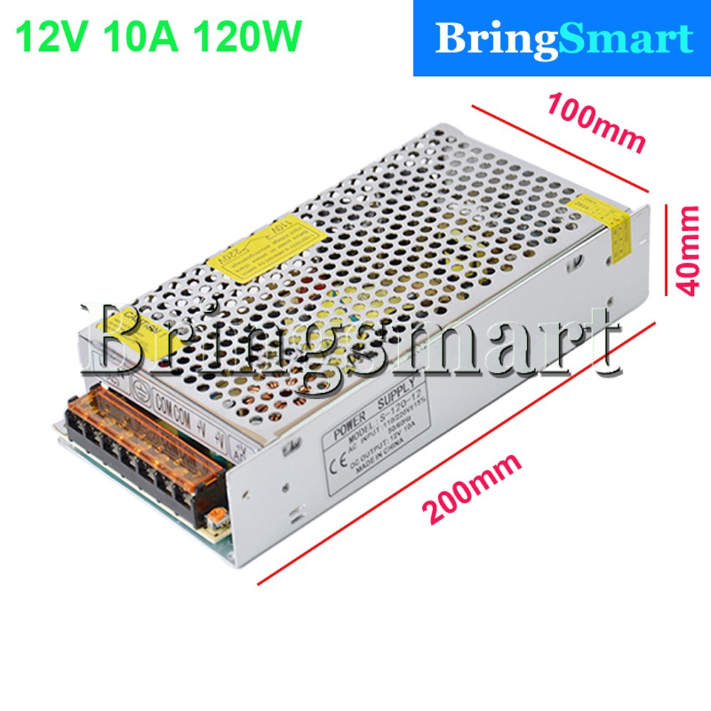 Bringsmart power supply 12v 10a Widely Use 12v 10a power supply