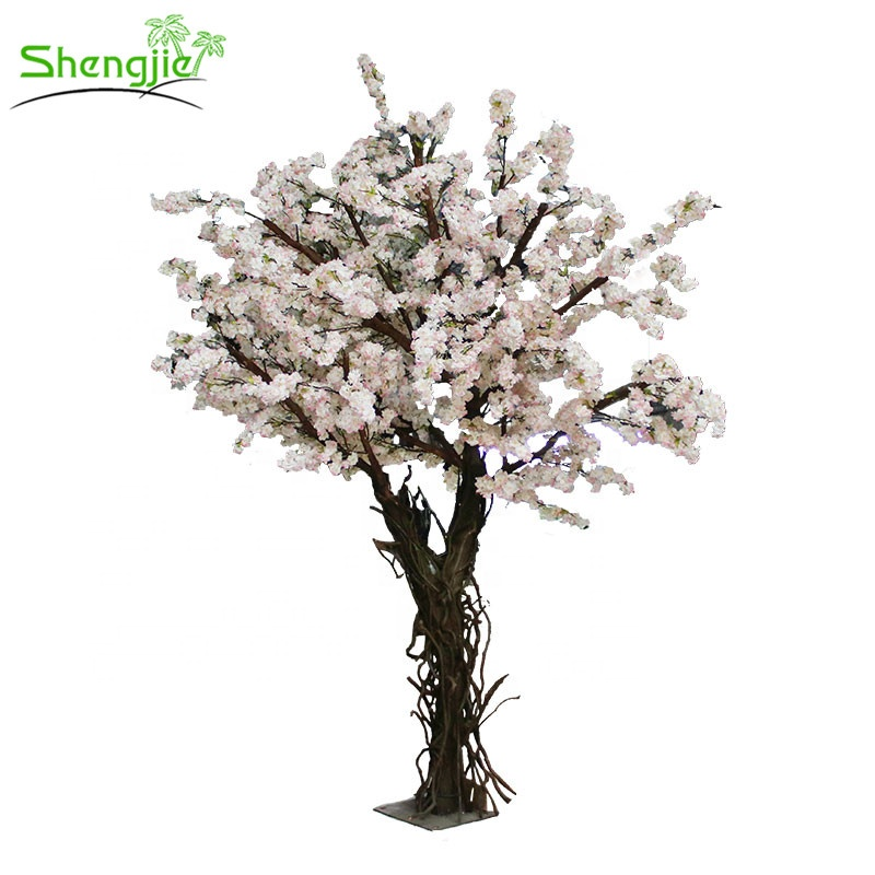 New Design Artificial Silk Japanese Cherry Blossom Tree For Wedding