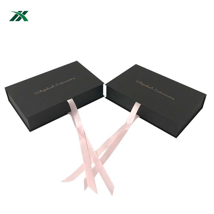 Newest arrival wig/hair extensions box packaging