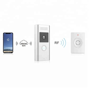 High Quality Outdoor 100% Wireless Smart P2P WiFi Video Doorbell Camera for Remote View and Two Way Intercom