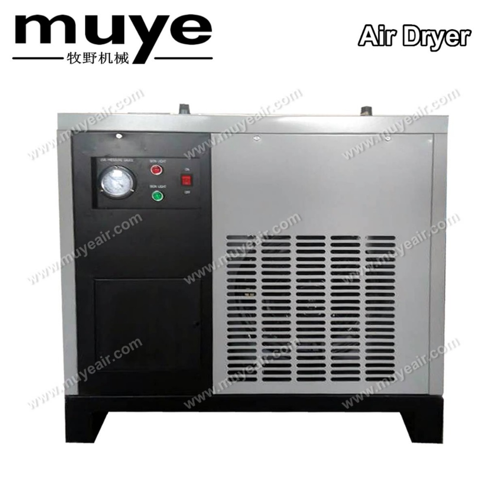 D Refrigerated compressed air dryers with air cooling for screw air compressor brand