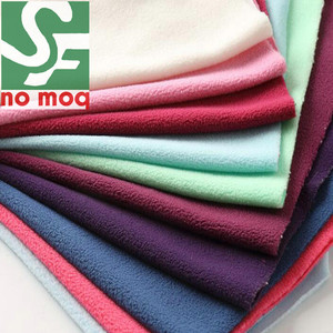 High Quality Comfortable100% Polyester Fleece Fabric for Baby Clothes Fabric&Lining Thermal Clothes