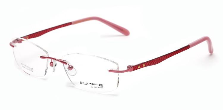 Latest Fancy Rimless Glasses Frames For Girls,Optical Frames - Buy ...