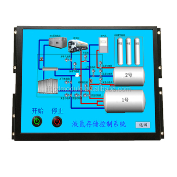 hmi industrial grade serial 1280x800 pixel 10.1 inch intelligent tft lcd module display support camera function