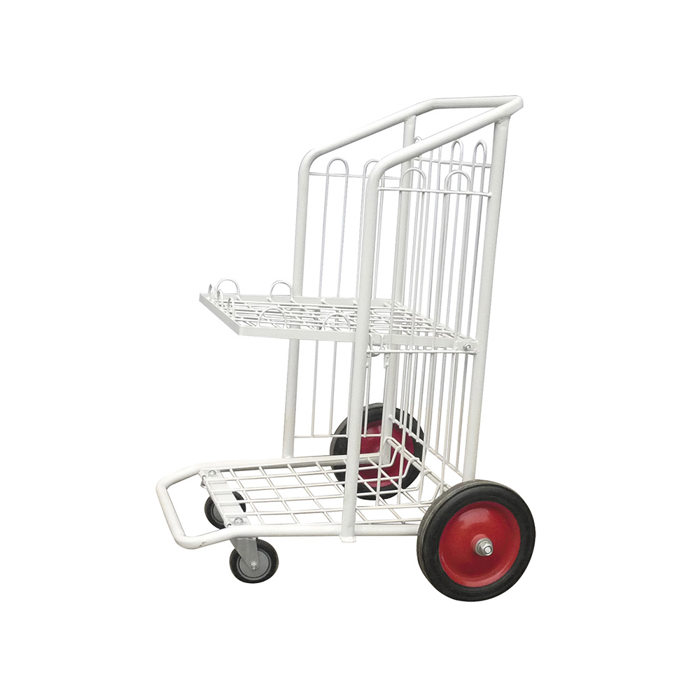 Changshu suppliers Plastic folding luggage cart logistics trolley airline trolleys