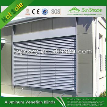 Outdoor Electric Aluminum Venetian Window Blinds Buy