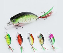 wholesale 5.9cm 9g Deep Diving Minnow Hard Lure Jigging Fishing Lure Hard baits Artificial Bait