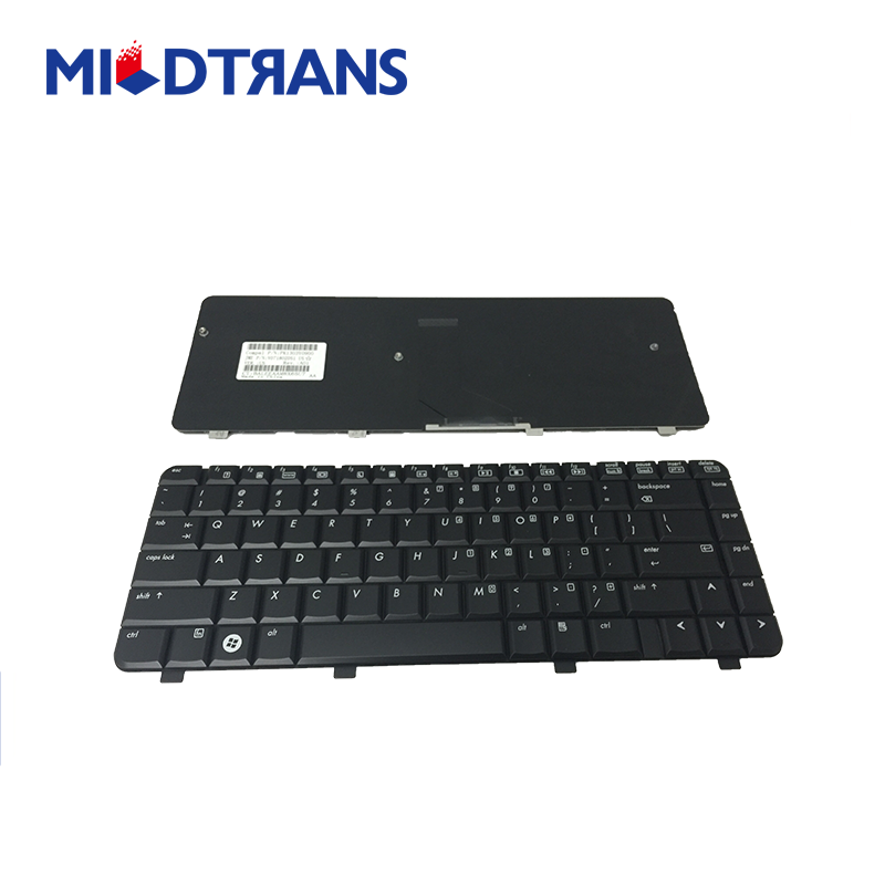Mildtrans good price Hot sale laptop keyboard for HP QT6A Pavilion DV5-1000 keyboard Silver Russian Layout