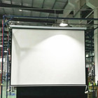 200 inch 4:3 fiber glass tubular motor high quality home theater Motorized projector screen