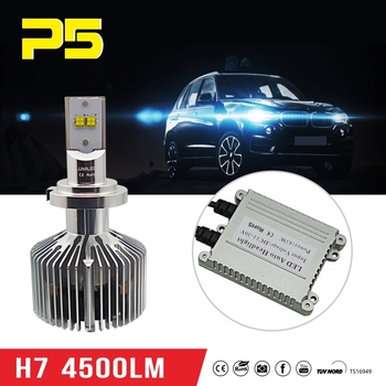 Booster 4500lm Headlight Seller H7 Bright high Car 45w Power With car H7 Best Buy Super Bases Led Bulb All WY29EHDI