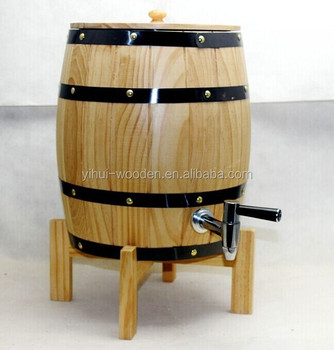 5 Liter Hot Sale Wooden Beer Barrelwine Barrel For Bar Buy Beer