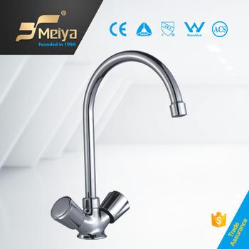 Libya Hot Sale Double Handle Sink Mixer Tap Kitchen Faucet Parts