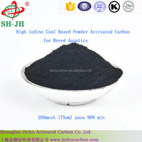 High Iodine Coal Based Powder Activated Carbon for Breed Aquatics