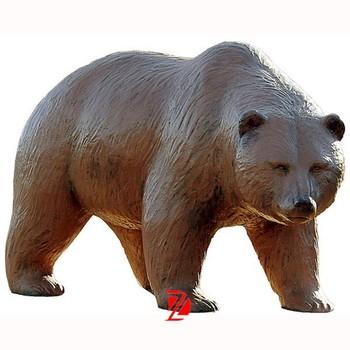 Attirant Fiberglass Bear Garden Statue