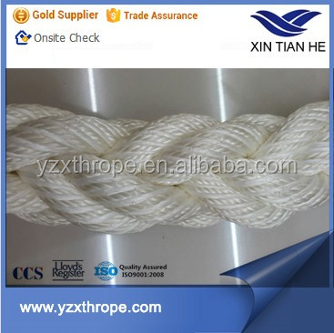 High Strength 8 strand Twisted PP PE Mixed Dock Rope
