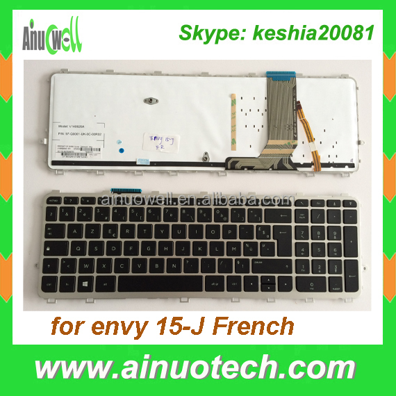 Brand new Laptop French Keyboard For hp envy 15-J 15-J015 15-J015TX 15-j025tx FR Laptop Keyboard US PL IT TR GR LA AR SP PO RU