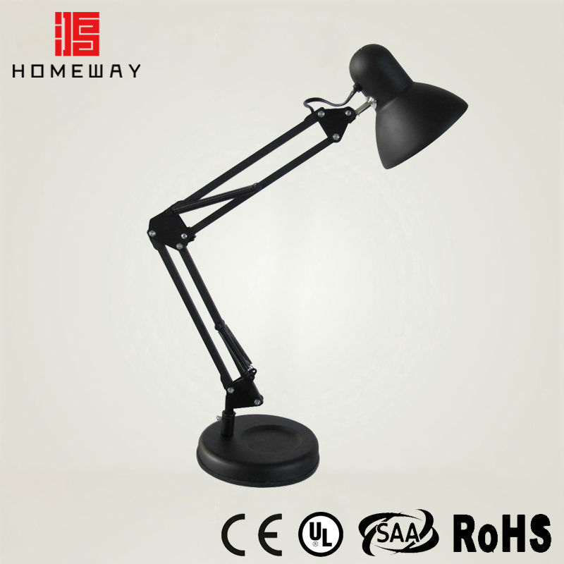 Super Bright Dimmable Swing Arm Desk Lamp Green Ce