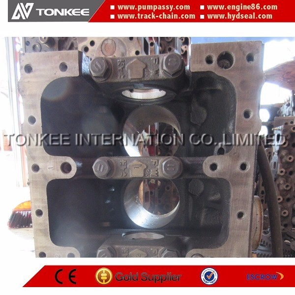 4TNE84 cylinder block 4TNE84 engine cylinder block for excavator machinery spare parts