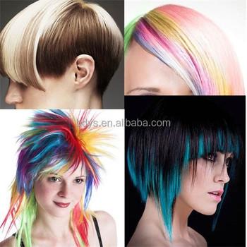 Hair Colour Semi Permanent Hair Cream Dye Non-toxic Temporary Soft ...