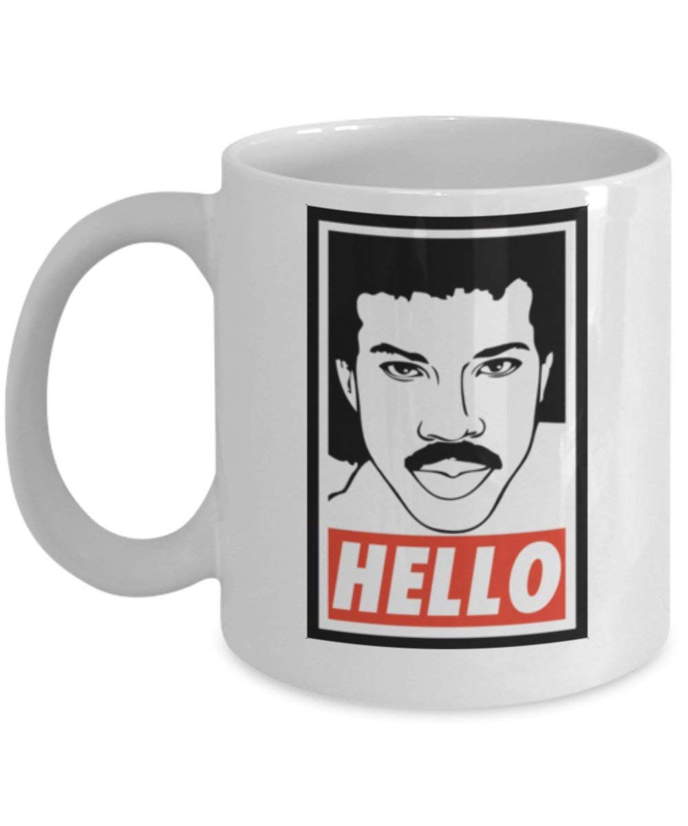 Lionel Richie Hello Is it TEA you/'re looking for? 11oz Coffee Mug