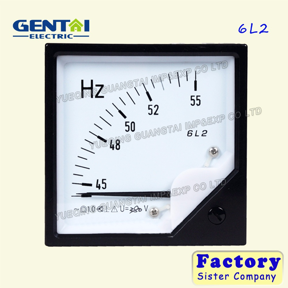 Good quality 6L2 ac micro panel meter frequency meter