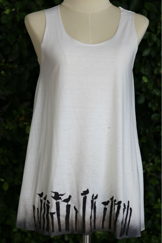 Lovely printing Ladies' tank