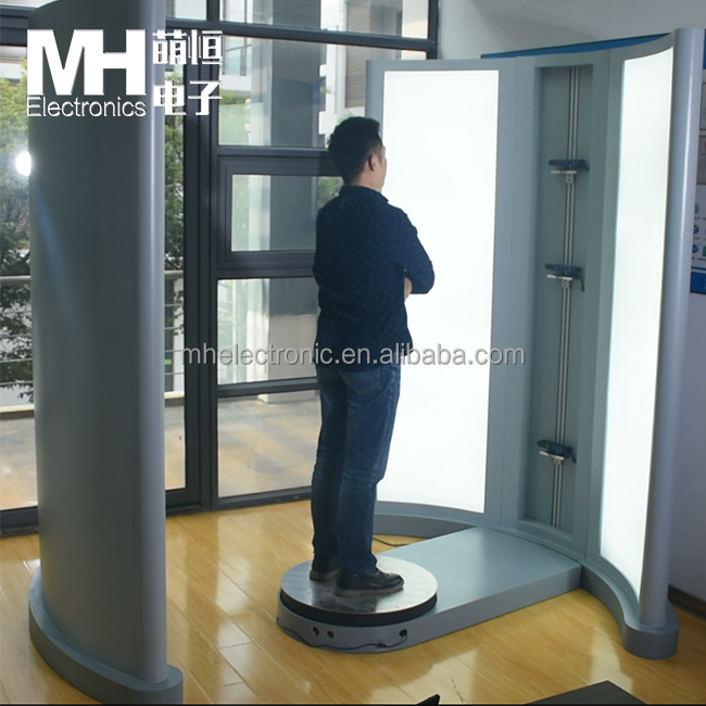 Revolving 3D Body Scanner Camera for Measurements