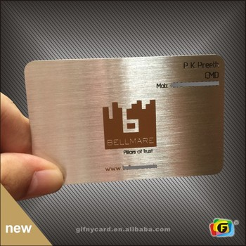 High Quality Metal Business Cards