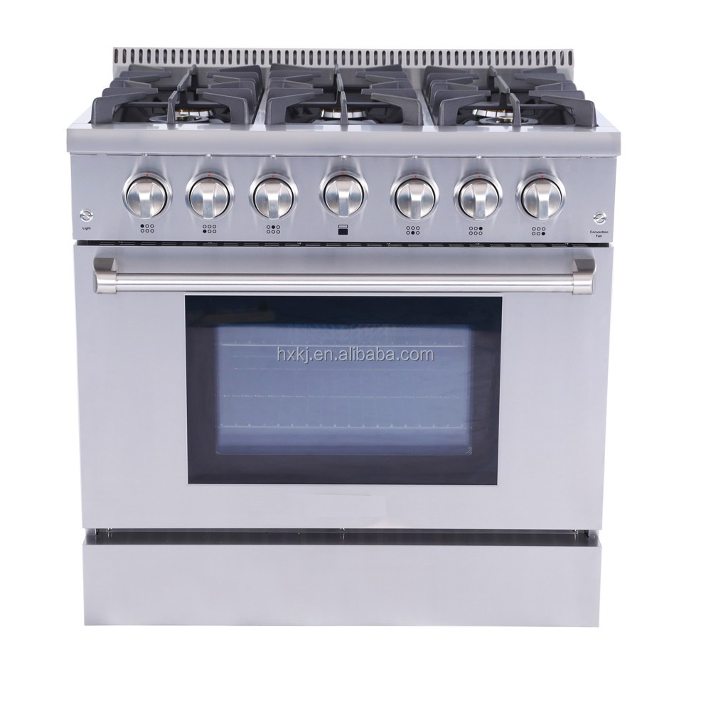 36 Inch Electric Stainless Steel Used Gas Range La Germania