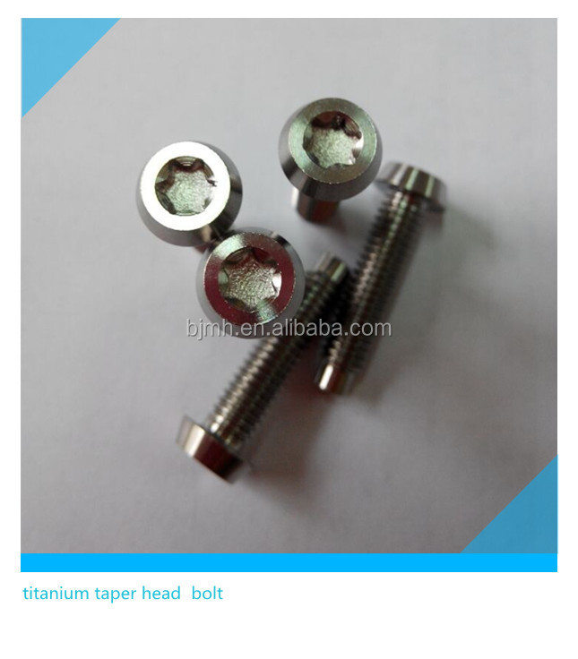 T30 Titanium Torx Bolt M6 Dog Point