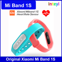 100% New Original Xiaomi Mi Band 1S Smart Xiaomi Miband Heart Rate Monitor Pulse 1S for Android/iOS