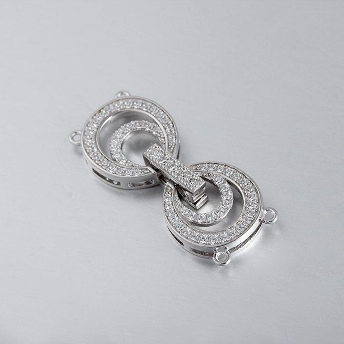 39c1958b9818 Moda joyería de plata esterlina resultados accesorios broches al por mayor  para collares de perlas
