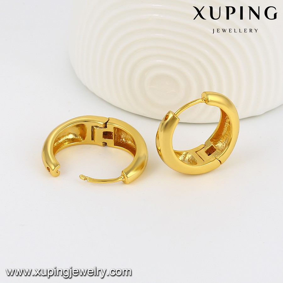 28346 Xuping Jewellery Ladies Hoop Earrings Designs Pictures ...