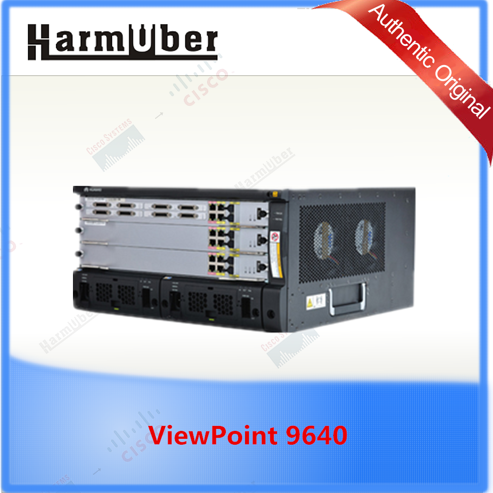 Huawei Universal Transcoding Video Conferencing Services Platform VP9640 combined with dynamic bandwidth management