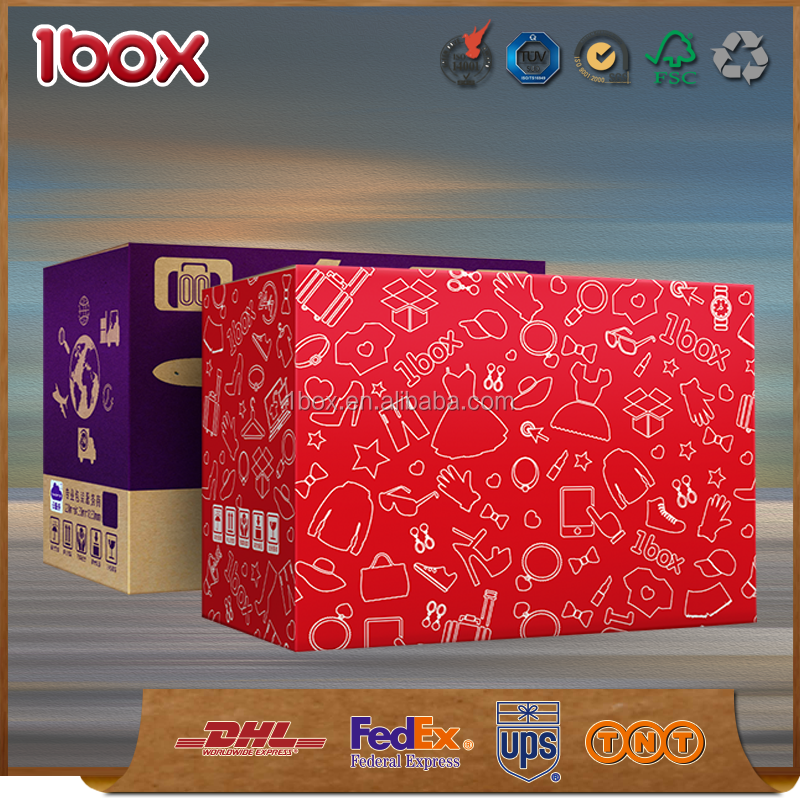 Hot sale offset imprint cutom size box