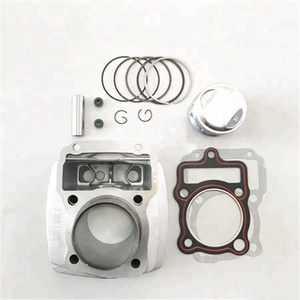 CG125 Motorcycle engine parts Cylinder block kit and piston kit and gasket Parts for Honda CG 125cc