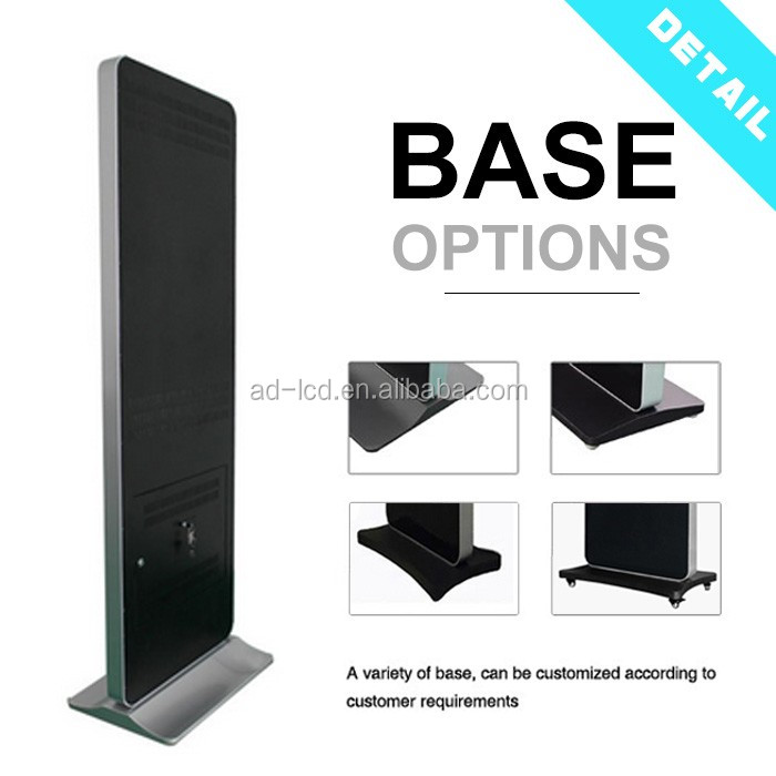 "43"" inch floor stand advertising player 43"" digital signage advertising kiosk"