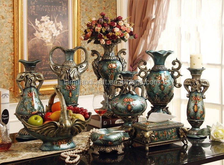 2016 turkish home accessories set for sale handmade resin Home decor for sale