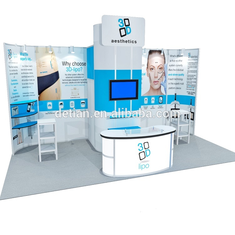 Portable Exhibition Stands In : Ft backdrop portable exhibition expo stand fair view stand