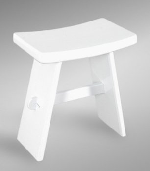 Ch 00270 001 Small Stool Quot Sushi Quot White Buy Small Stool