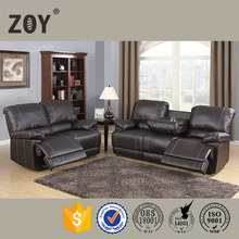 luxury living room set, sectional leather sofa,furniture,reclining house sofa set 97781