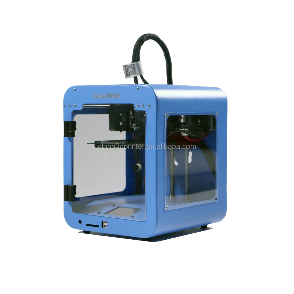 China Createbot Super mini 3D Printer Manufacturers Build Size 85*80*94mm with Touch screen 3D Printer