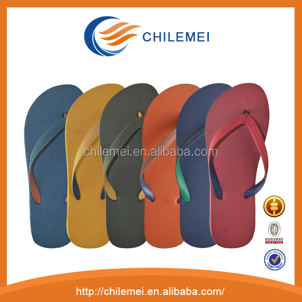 Accept customized logo slipper blank sublimation printed rubber flip flops