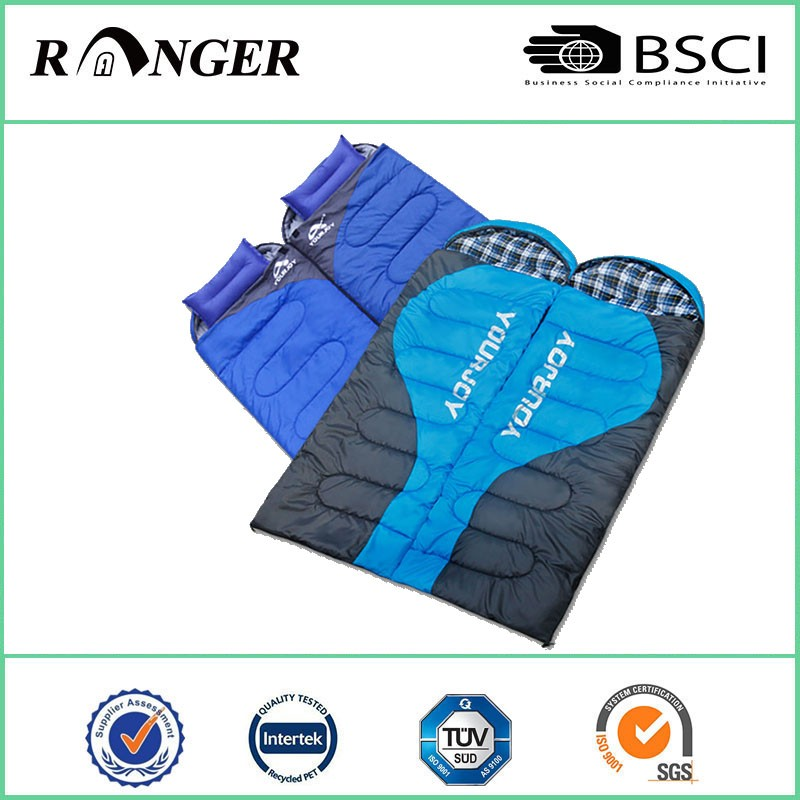 Double Lightweight Envelope Wearable Sleeping Bag
