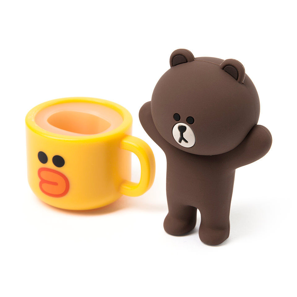 2018 New idea USB flash drive full brown bear mug 16GB USB flash driver