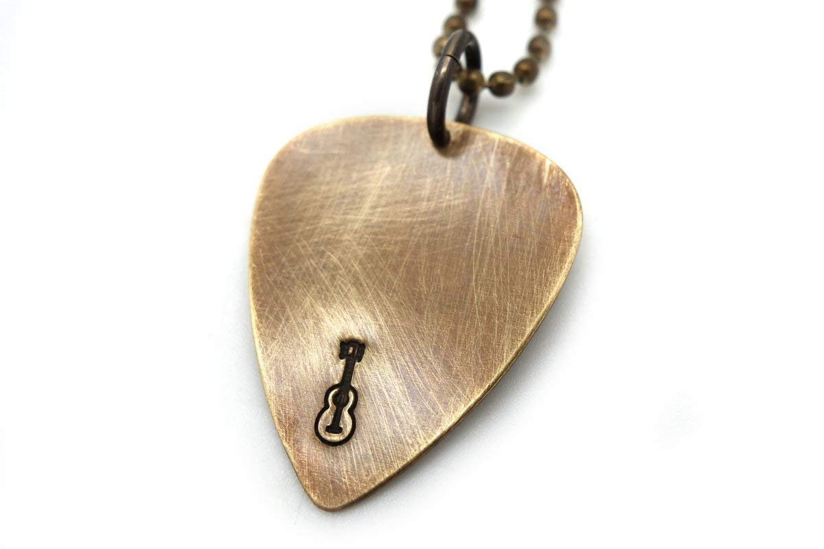 McFly Guitar Pick Necklace Band Plectrum