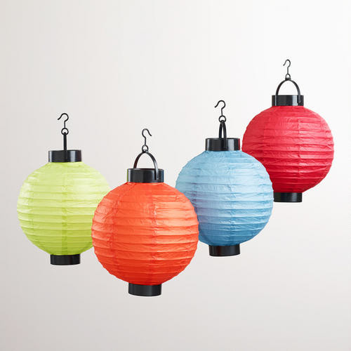 high quality battery operated hanging led paper lantern buy led